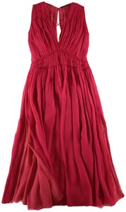Sophie Theallet Chiffon Ruched Dress