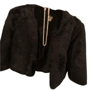 LC Lauren Conrad Fur Coat