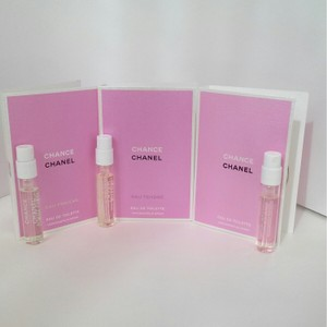 Chanel SET OF 3×CHANEL CHENCE-SPRAY VIAL (MINI)-0,06 oz- 2 ml; 0,05oz-1,5 ml-USA