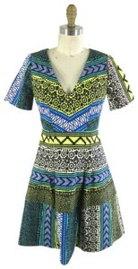 Tracy Reese short dress multi Print Colorful Fit-flare on Tradesy