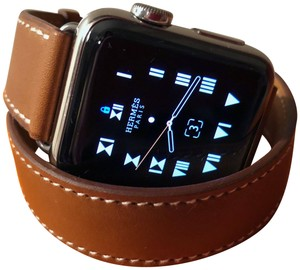 Hermès Hermès Apple Watch 38mm New Double-Tour Band, Stainless, Series 2