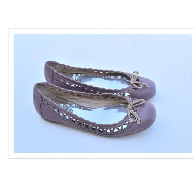 Item - Lilac Cutout Flats Size US 5.5 Regular (M, B)