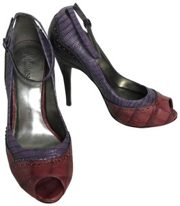 Marciano Purple/Terracotta Pumps