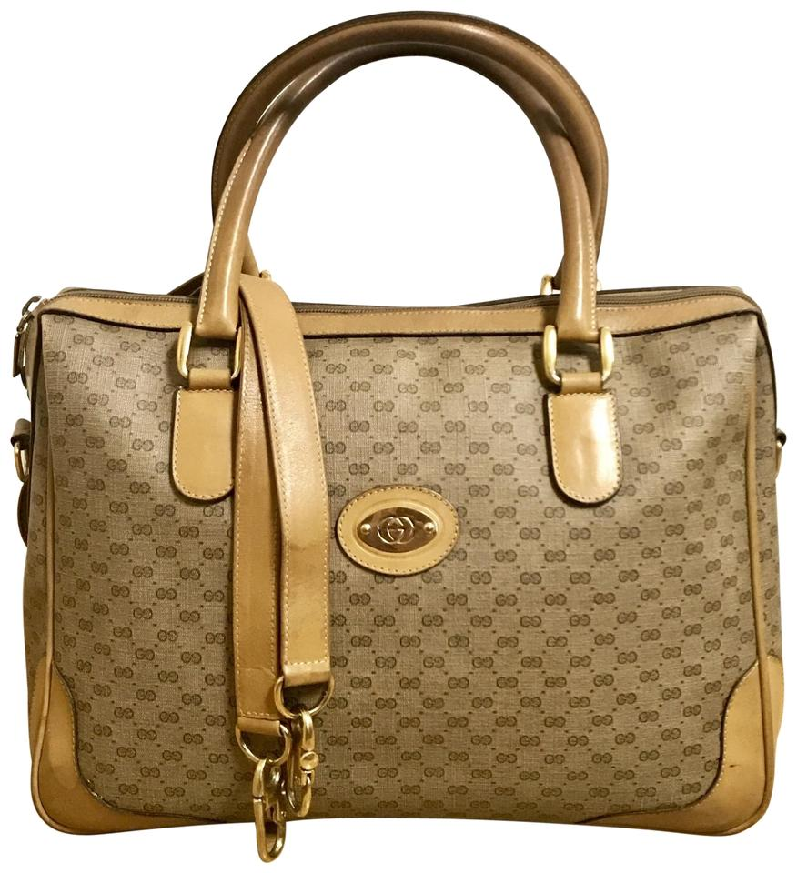 a1157204c756 Gucci Boston Vintage Tan Doctor Speedy 2way Handbag Shoulder Bag ...