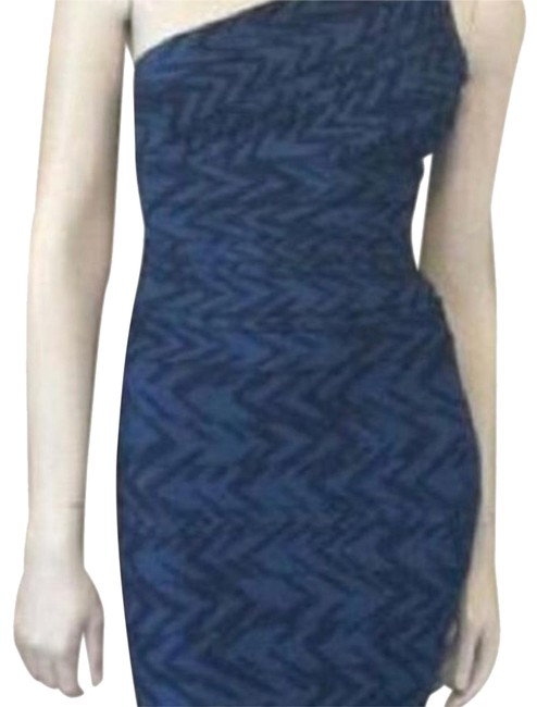 Item - Blue Like New Mid-length Night Out Dress Size 4 (S)