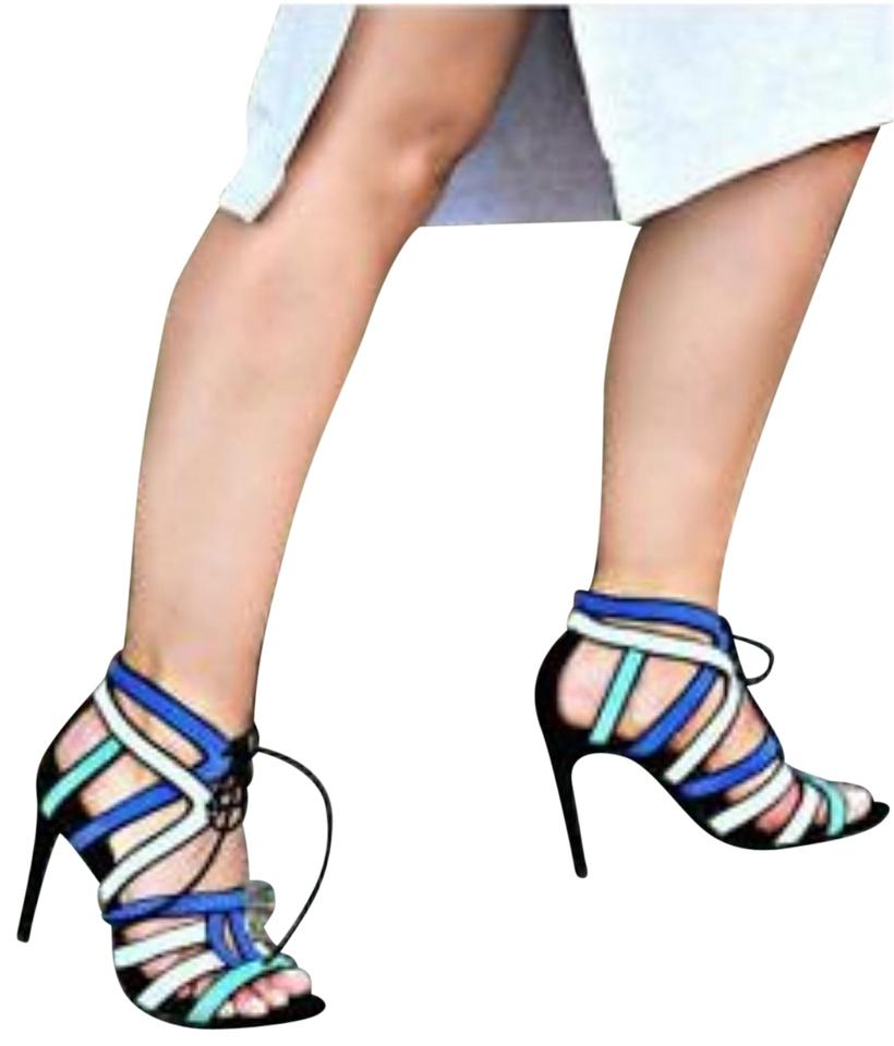 3c1ce893ba2 Zara Multicolored Strappy High Heel (2628) Sandals Size US 6.5 ...