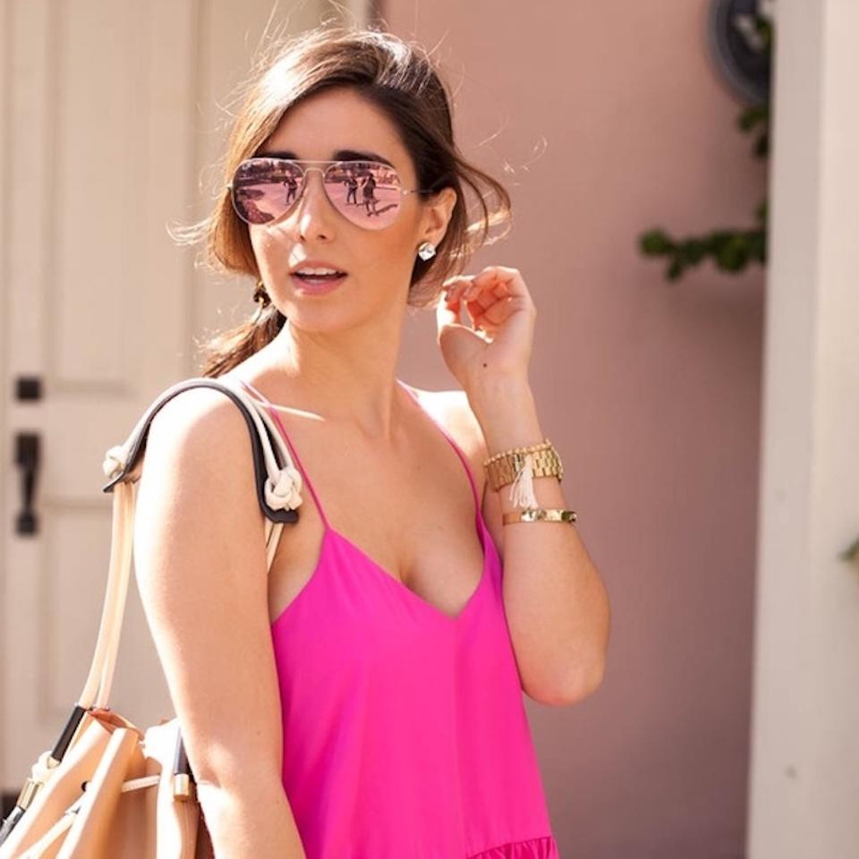 ed6c0c60bb6 Ray-Ban Gold - Pink Mirror Lens Aviator Rb 3025 112 4t Free 3 Day ...