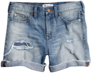 Madewell Denim Shorts-Distressed
