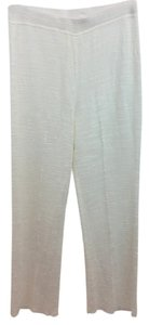 Escada Knit Patns Relaxed Pants White