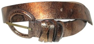 Coldwater Creek reptile embossed leather