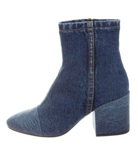 Dries van Noten Jean Spring Denim Blue Boots