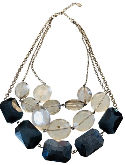 Preload https://img-static.tradesy.com/item/23161635/ax-armani-exchange-blue-neckless-and-clear-stone-aix-necklace-0-1-540-540.jpg