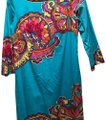 Lilly Pulitzer short dress teal, paisley on Tradesy