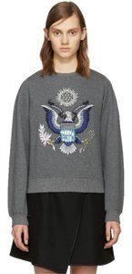 Opening Ceremony Sequin Eagle Pullover Sweatshirt