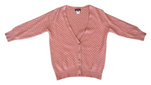 Demylee Cashmere Cardigan Soft Dusty Nude V-neck Classic Dryclean Only Romantic Nerd Cotton Crochet Mauve Mauve Pink Pink Sweater