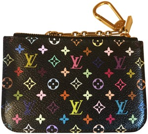 Louis Vuitton Multicolor Noir Deadstock - Limited Edition Key Cles Wallet