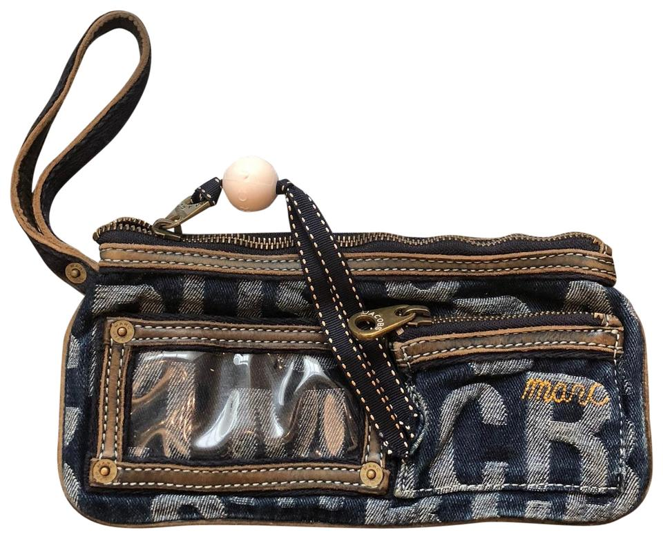 Marc Clutch Blue Zip by Marc Wrislet Jacobs Denim wq50X8
