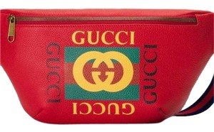 Gucci Red Messenger Bag