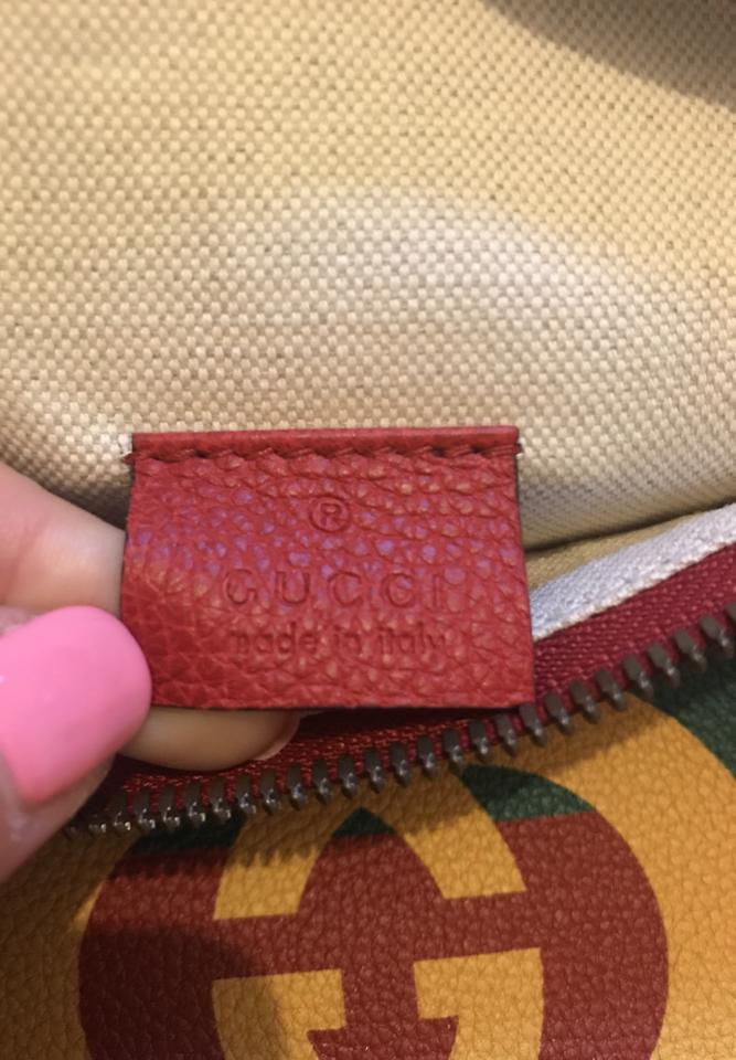 fe9b397d26c Gucci Fanny Pack Red Leather Messenger Bag - Tradesy