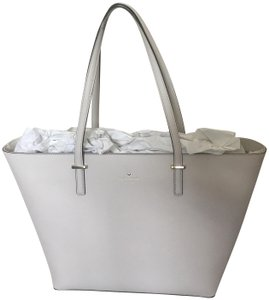 Kate Spade Tote in Pebble/White