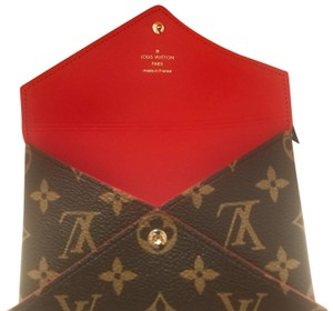 Louis Vuitton full set w box! kirigami medium monogram pouch passport holder