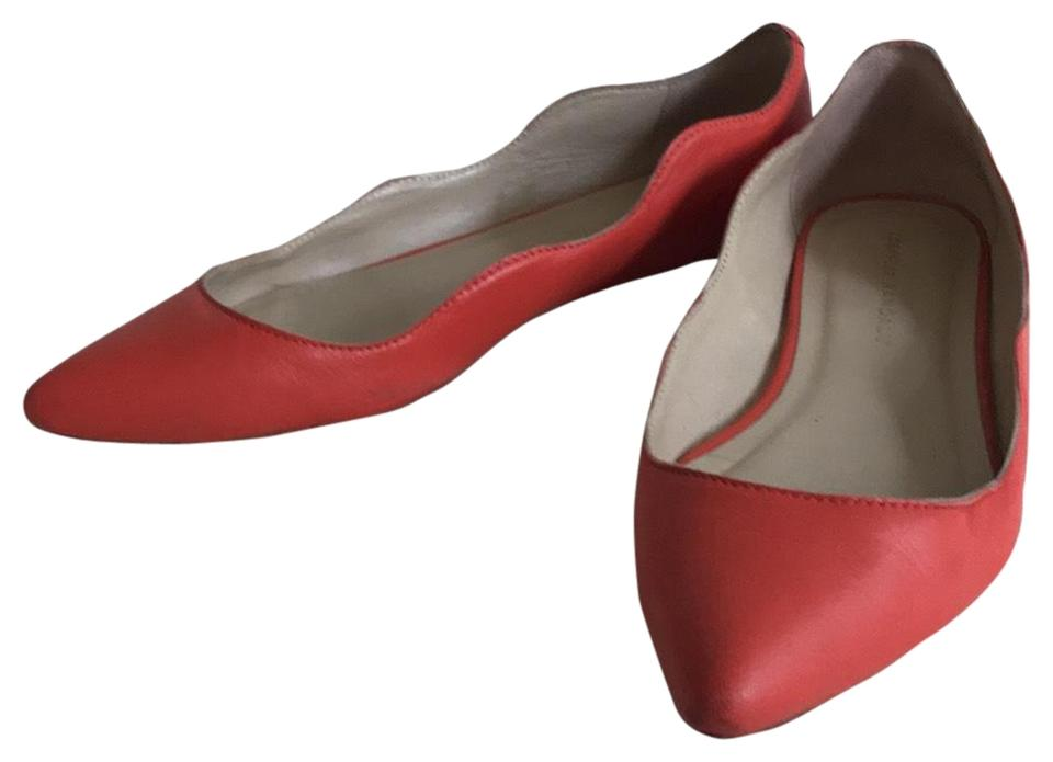 Loeffler Randall Red Red Randall Scalloped Pointy Flats e7388a