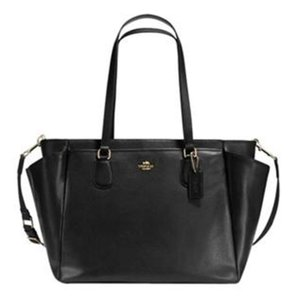 Coach Multifunction Tote Black Diaper Bag