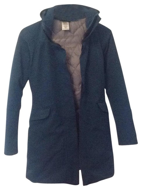 Item - Blue Bordering On Very Dark Teal. Duete Parka Coat Size 2 (XS)