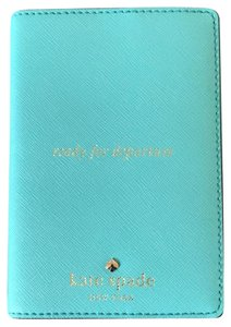 """Kate Spade Passport Holder """"ready for departure"""""""