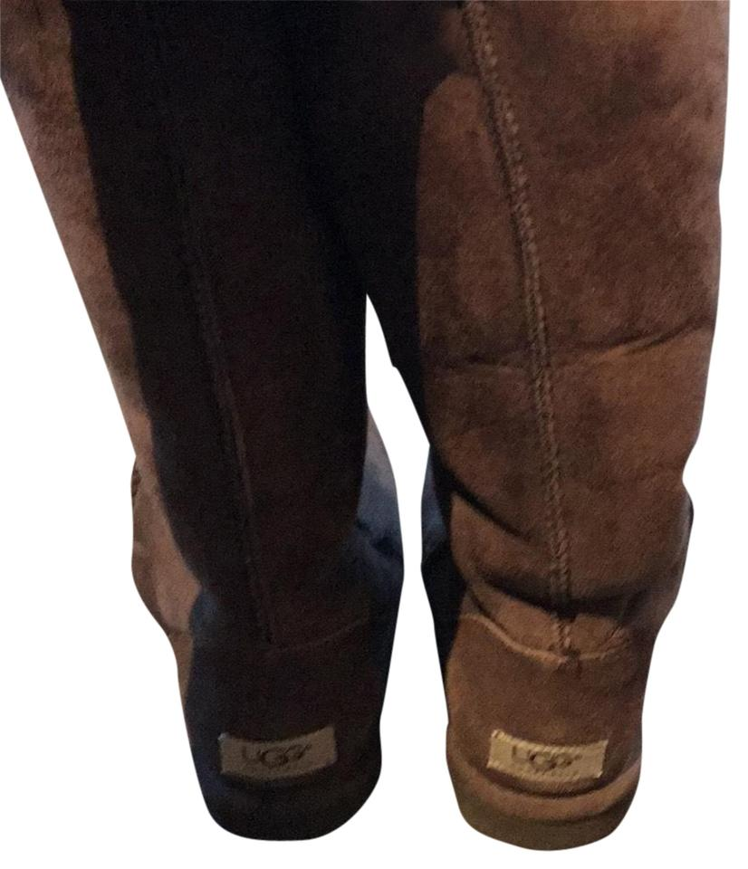 cheap for sale beauty quality products UGG Australia Brown Uggs Mid Calf Boots/Booties Size US 8 Regular (M, B)  62% off retail