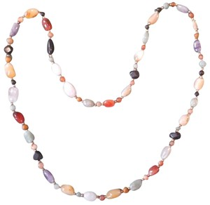 Coldwater Creek Multi-color stone necklace