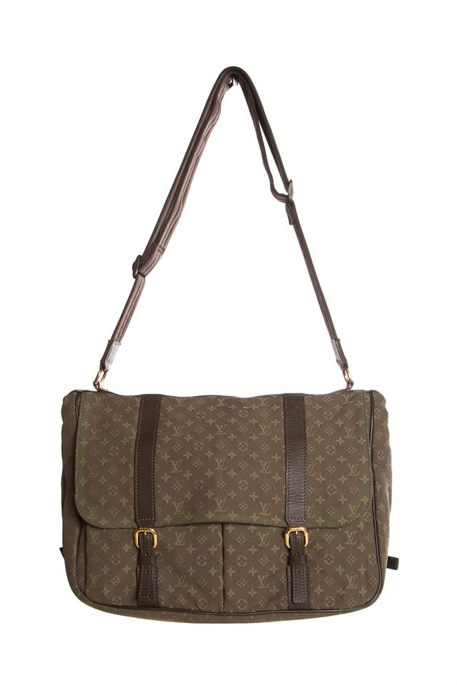 louis vuitton sac a langer diaper army green canvas. Black Bedroom Furniture Sets. Home Design Ideas