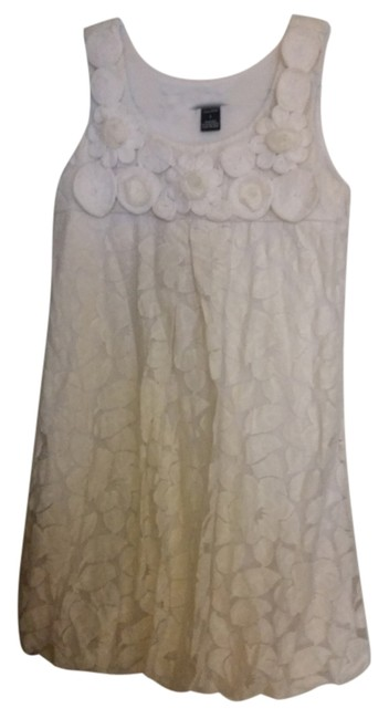 Azwell short dress Ivory Floral Lace on Tradesy
