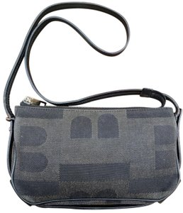 Bally Canvas Vintage Shoulder Bag