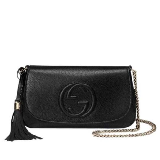 20db78f67f49 Gucci Soho Leather Chain Crossbody Bag Review | Stanford Center for ...