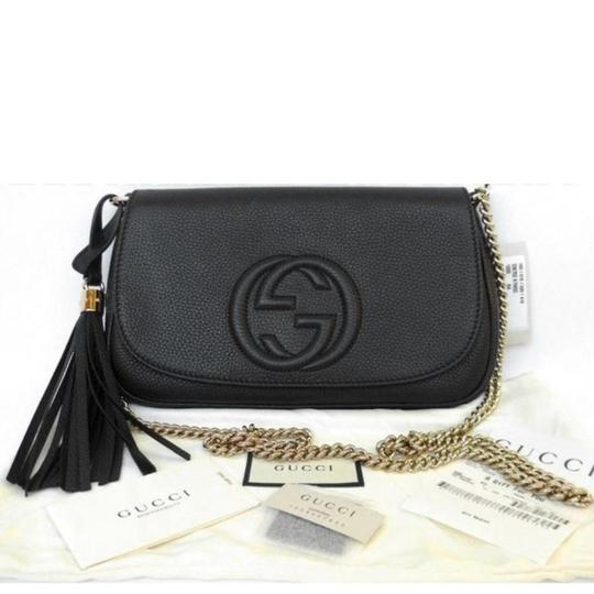 8506697fd60d Gucci Soho Leather Chain Crossbody Bag Review | Stanford Center for ...