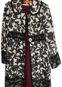Cynthia Steffe black and cream Jacket