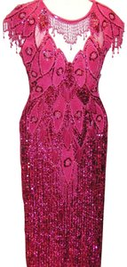 Just Female Pageant Prom Emblished Ball Gown Dress