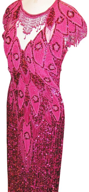 Just Female Pageant Prom Emblished Ball Gown Dress Image 10