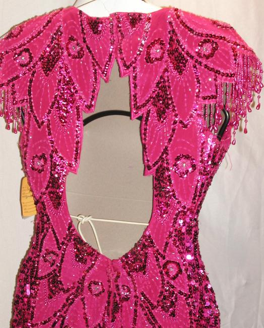 Just Female Pageant Prom Emblished Ball Gown Dress Image 11