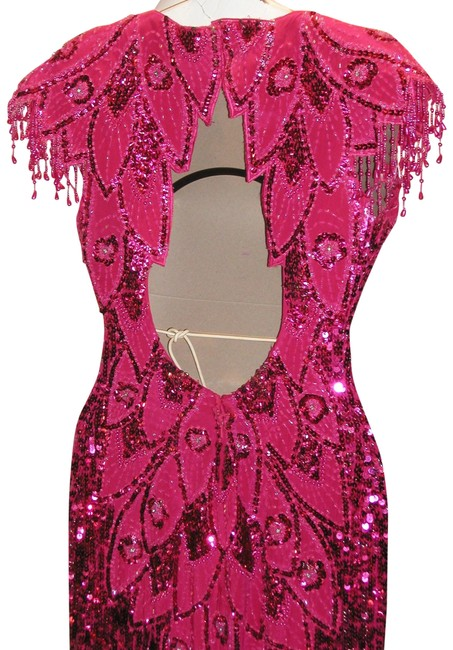 Just Female Pageant Prom Emblished Ball Gown Dress Image 2