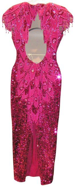 Just Female Pageant Prom Emblished Ball Gown Dress Image 7