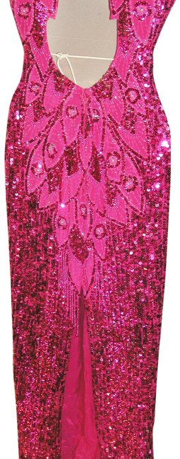 Just Female Pageant Prom Emblished Ball Gown Dress Image 8