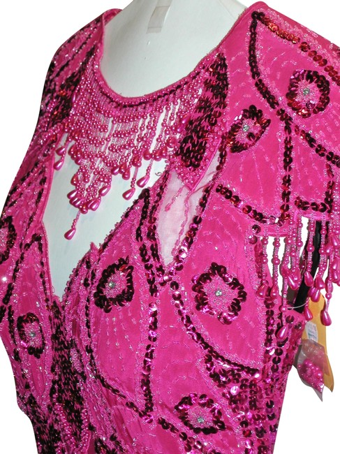 Just Female Pageant Prom Emblished Ball Gown Dress Image 9