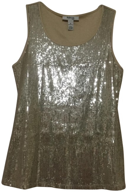 Preload https://img-static.tradesy.com/item/23165088/style-and-co-beige-sequin-tank-topcami-size-petite-12-l-0-1-650-650.jpg