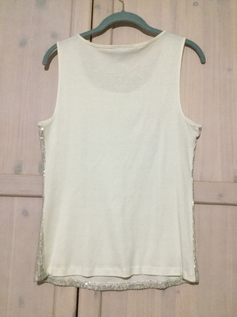 Style & Co Top Beige Image 4