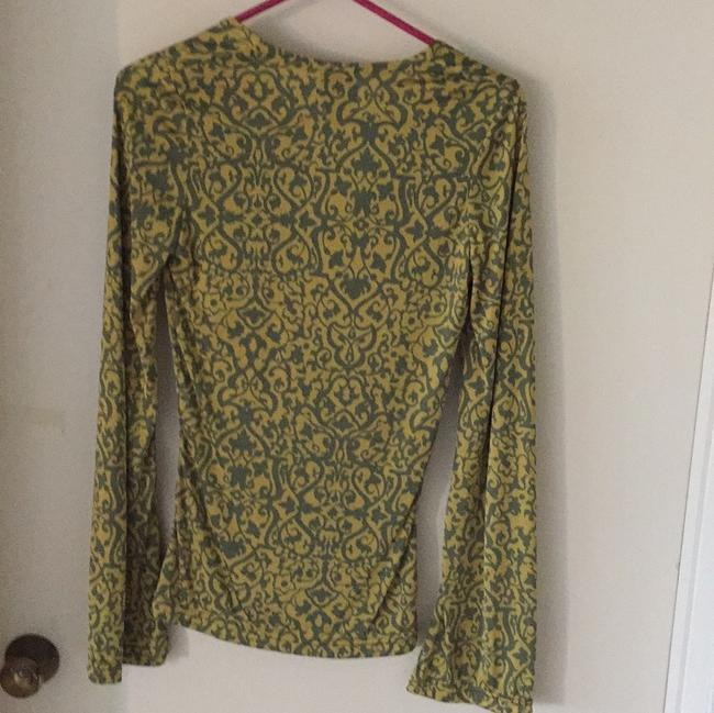Isabel Marant Top Gold and Green Image 1