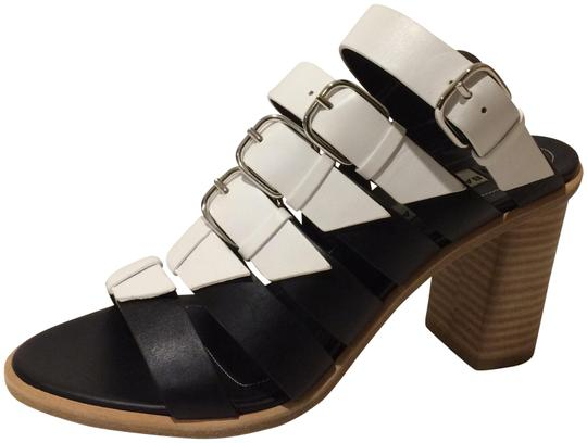 Balenciaga Black/White Sandals Image 0