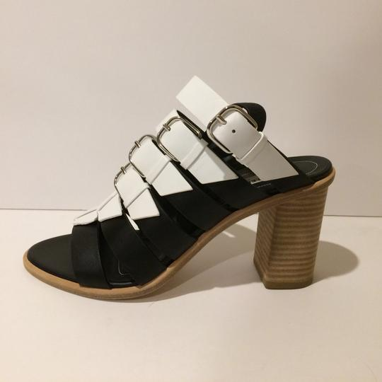 Balenciaga Black/White Sandals Image 1