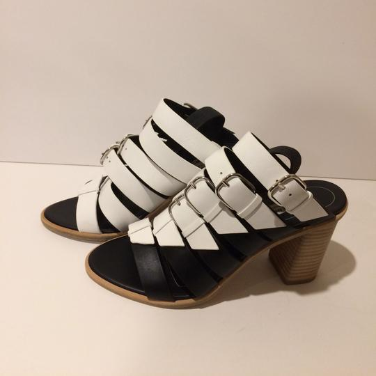 Balenciaga Black/White Sandals Image 2